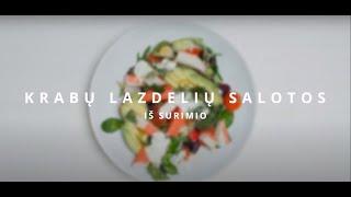 Pavasariškos krabų lazdelių iš surimio salotos | VERDU IR KEPU | 2021