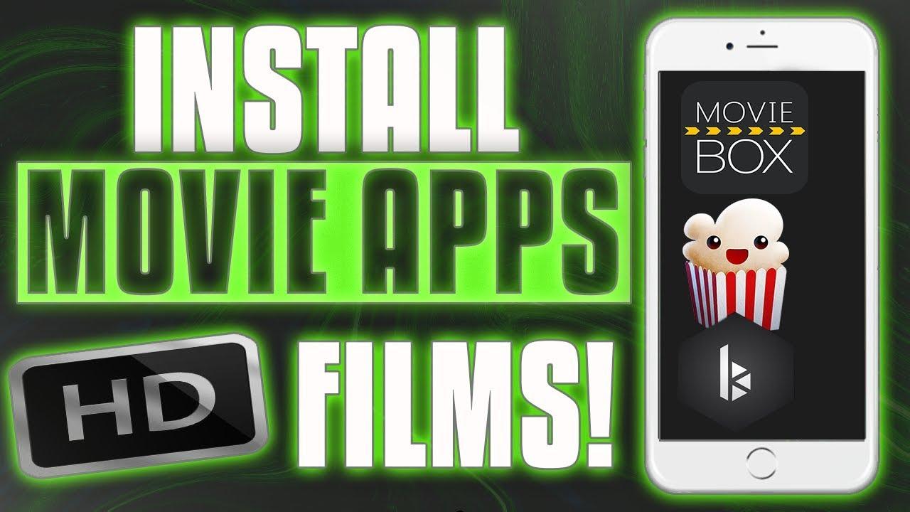 NEW* Install MovieBox - BobbyMoves - PopCorn Time iOS 10 - 11 (No Computer  / No Jailbreak)