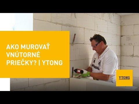 Ako Murovať Vnútorné Priečky? | Ytong