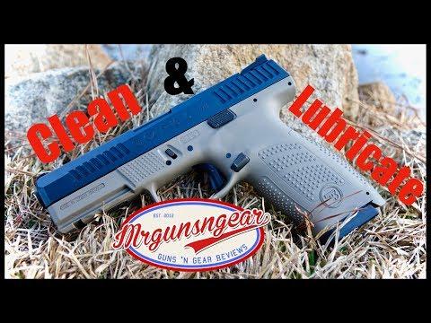 How To Clean & Lubricate A CZ P-10C Handgun (4K)