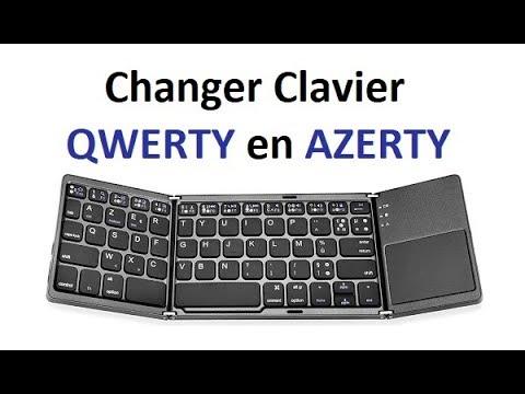 comment changer clavier qwerty en azerty sur windows 10 youtube. Black Bedroom Furniture Sets. Home Design Ideas