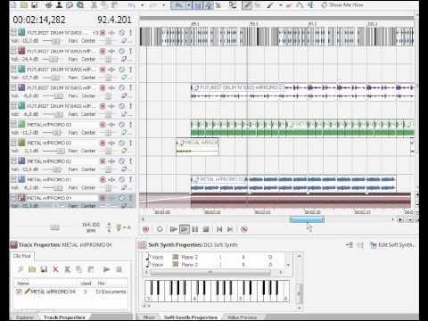 Acid Xpress Free Music Editor