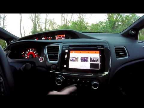 HTC Smartphone MirrorLink to Honda Civic SI Head Unit