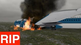 Trying To Survive A Plane Crash - Prepare For Impact Simulator