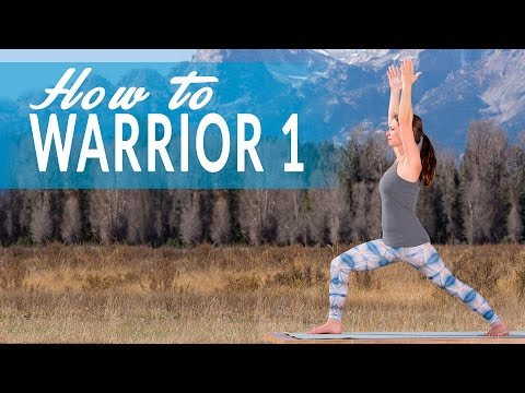 Yoga Today: How to do Warrior 1 Pose (Virabhadrasana I)