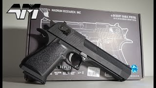 CYBERGUN DESERT EAGLE Fully Licensed / Full Metal / WE OEM / Airsoft Unboxing Review