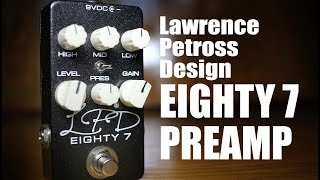 Lawrence Petross Design EIGHTY 7 - One Pedal That Can do it All!