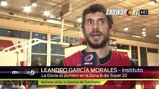 INSTITUTO BASQUET   LEANDRO GARCIA MORALES
