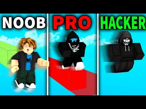 NOOB vs PRO vs HACKER in Roblox Bedwars..