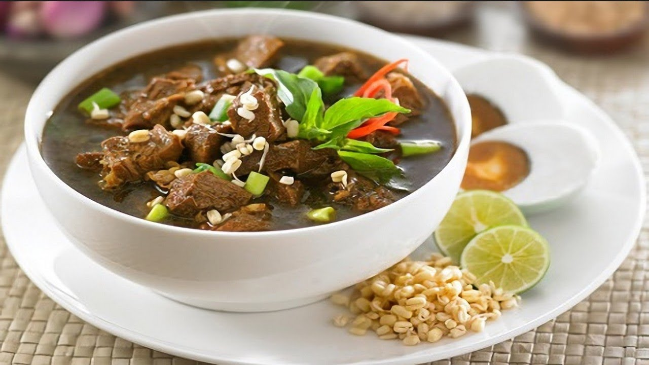Rawon The Beef Black Soup From Easta