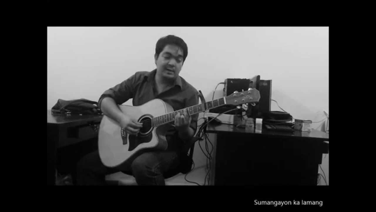 Kasama Kang Tumanda Acoustic Cover Daniel Padilla YouTube
