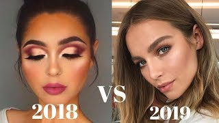 Top 2019 Makeup Trends - Natural Makeup Is In & Heavy Makeup Is Out!