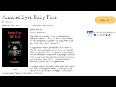 Pilleater Talks About His Book, Almond Eyes Baby Face.