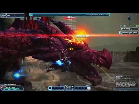 Phantasy Star Online 2 – Crimson Castle Crusher XH