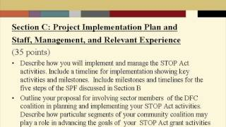STOP Act Webinar 2012