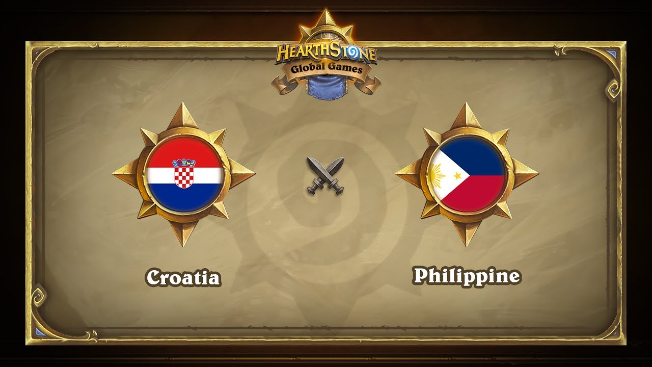 Хорватия vs Филиппины | Croatia vs Philippine | Hearthstone Global Games (30.05.2017)