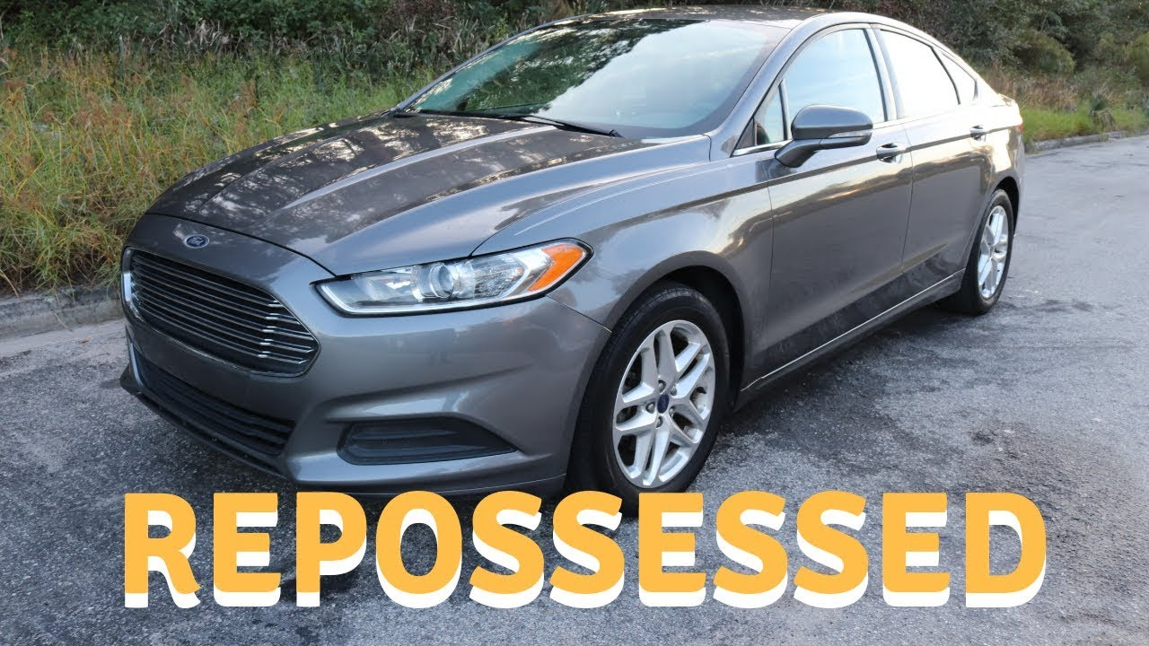 Repo Cars For Sale In San Antonio >> Repossessed 2013 Ford Fusion Bought From Copart Auto Auction Cheap Bank Repo