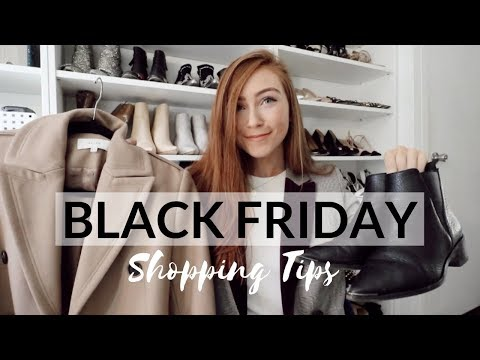 Kristina Kage - Best Black Friday Shopping Tips EVER