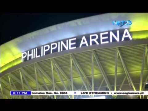 Various sports events held at Philippine Arena