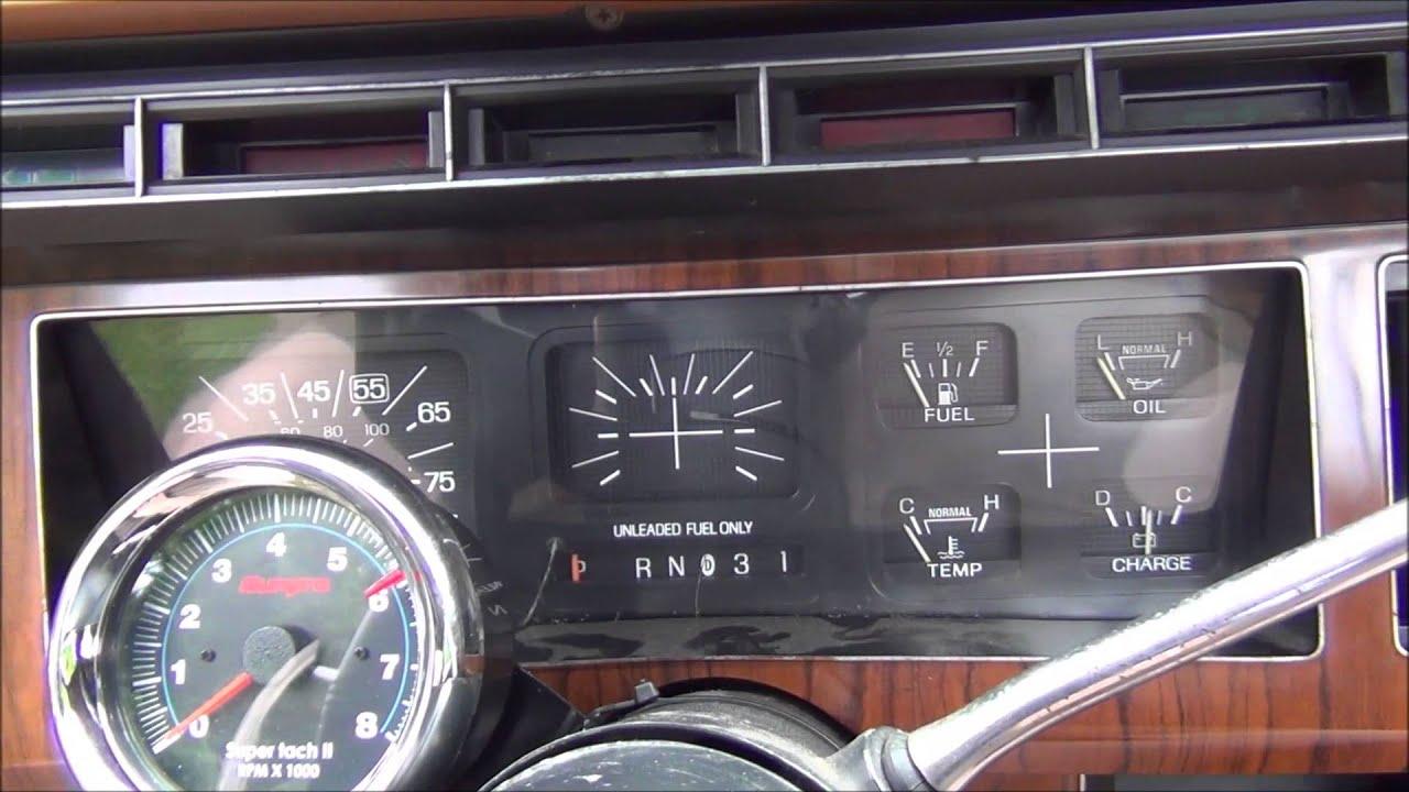 55 Chevy Dash Wiring Diagram Install Tach On A 82 Ford F150 Youtube