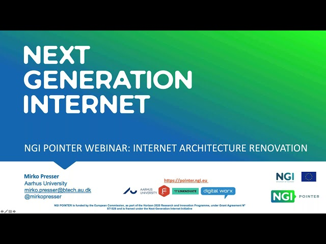 NGI POINTER Webinar: How the New Internet Architects can get up to 200K€ equity free funding?