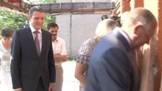 Сергей Митин посетил чудовскую среднюю школу №4 и принял решение побывать здесь 1-го сентября