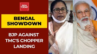 Bengal Showdown: BJP Asks Poll Panel To Deny Permission TMC's Chopper Landing Near PM's Rally Venue