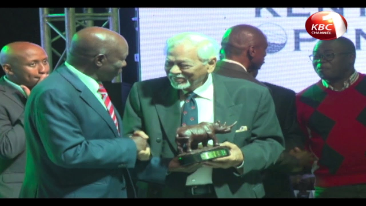Mwai Kibaki among 12 individuals inducted into Kenya Open Golf Hall of Fame