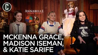 Annabelle Comes Home Cast On Why It's So Hard To Play Scared