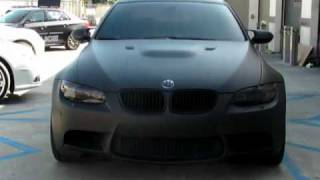 Video Matte Flat Black BMW M3 Vinyl Wrap download MP3, 3GP, MP4, WEBM, AVI, FLV Agustus 2018
