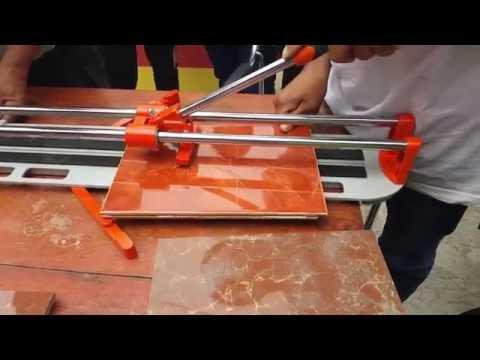 Maquina De Cortar Cerámicos y Azulejos - Cortes rápidos