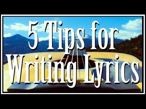 Week 6 - Muddy Waters - 5 Tips for Writing Lyrics