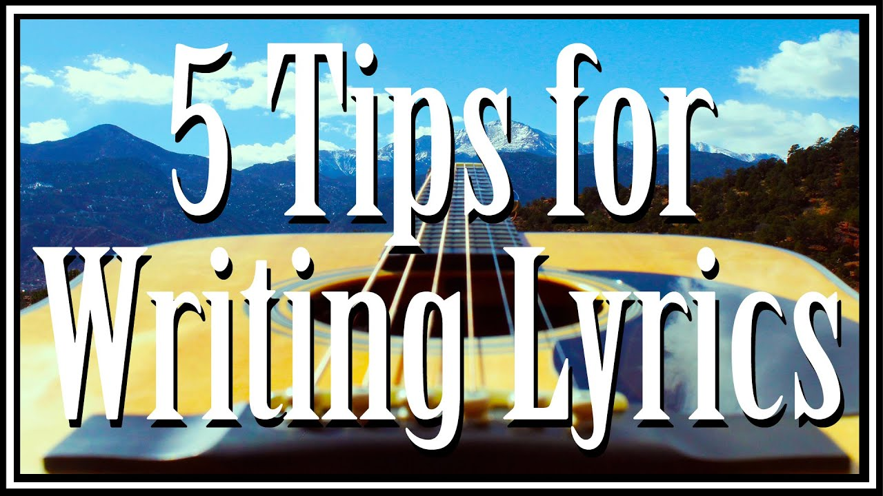 """tips for writing lyrics A quick search of """"lyric writing tips"""" brings up well over 700,000 hits that's a lot of aspiring songwriters out there whether you're vying for the next big hit or simply writing for your own creative expression, there's one skill that nearly every successful songwriter practices, and it's one that most of the unsuccessful songwriters don't."""