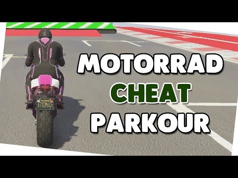 MOTORRAD CHEAT PARKOUR 🍟 Parkour + Download 🍟 GTA V Custom Map #520