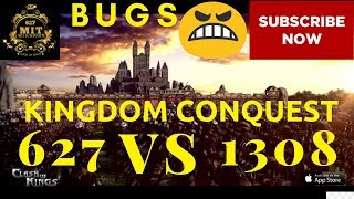 Kingdom Conquest 627 VS 1308 - Clash of Kings