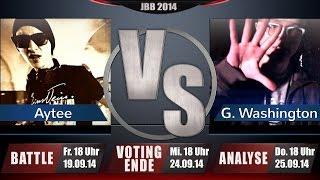 JBB 2014 [4tel-Finale 2/4] - Aytee vs. Gary Washington [ANALYSE] thumbnail