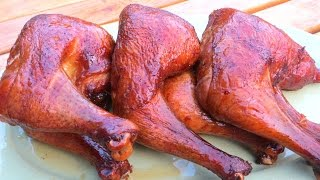 How To Make Smoked Bbq Chicken - The Wolfe Pit