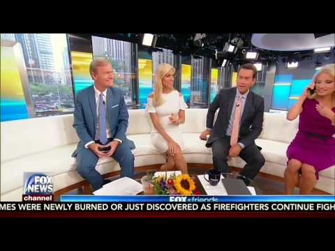 Kellyanne Conway Hold Up Her Fox & Friends Interview Because She Was on the Phone with Trump