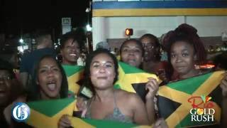 #RioGoldRush: Half Way Tree goes crazy for Bolt