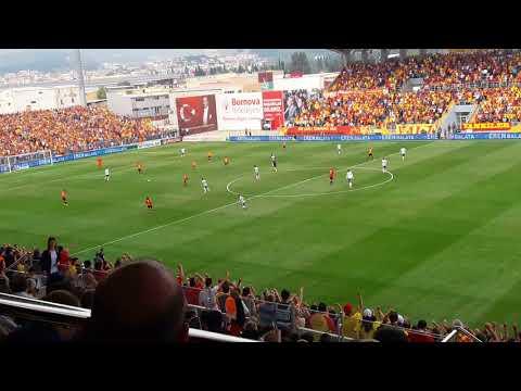 Göztepemiz 2-1 Bursaspor (Bütün Stad Haydi Bastır Şanlı Göztepe)