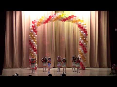 «Зайчики» -Бульвар -- младшая группа-отчётный концерт 1.03.2014
