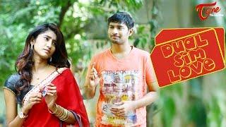Repeat youtube video Dual Sim Love || Telguu Comedy Short Film 2017 || By Madhu Chandra