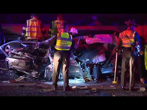 Two hurt in head-on wrong-way crash on Interstate 90 in Bratenahl overnight