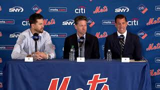 SEE IT: The best of the Jacob deGrom contract extension presser