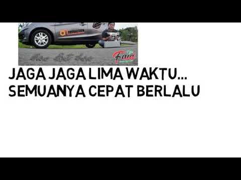 Lagu muslimah jaga 5 waktu shalat feat bergek  lirik bagus