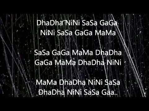Mere dholna-Full lyric (corrected)(sargam)+english translation.shreya&m.g. sreekumar.