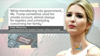 Ivanka Trump Sent Hundreds Of Emails Using Personal Account