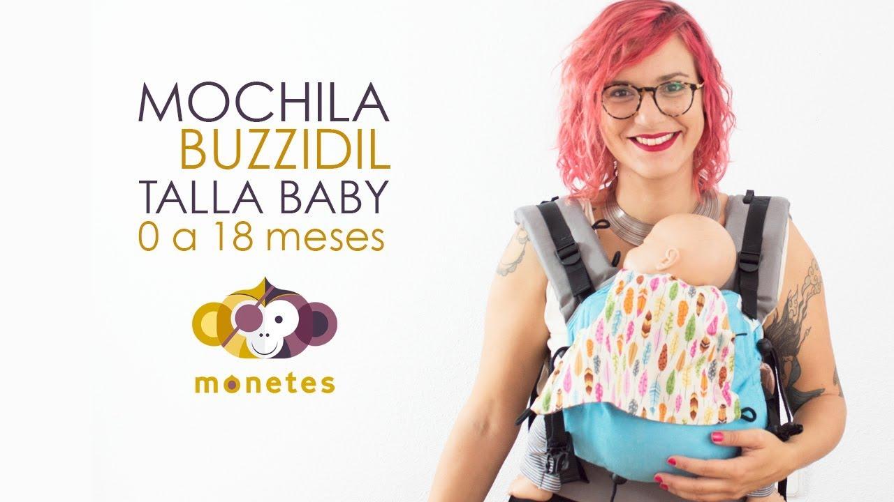 mejor calidad encontrar el precio más bajo Calidad superior Mochila ergonómica Buzzidil - Talla Baby