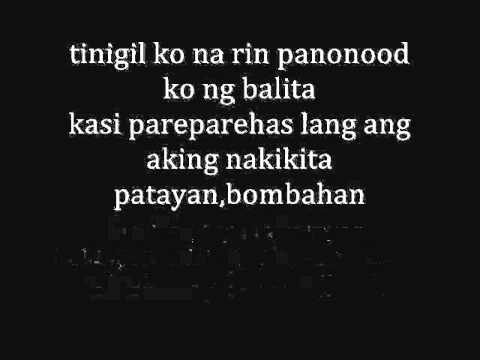 Bayang Di Magiliw  with lyrics - JAHN D