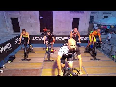 """Spinning """"nel cuore dei Sassi di Matera""""   22 7 2017   HD"""